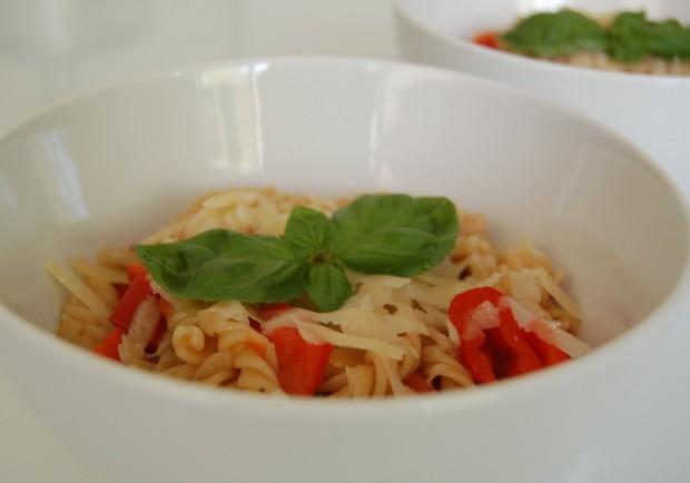 Snelle eenpans pasta