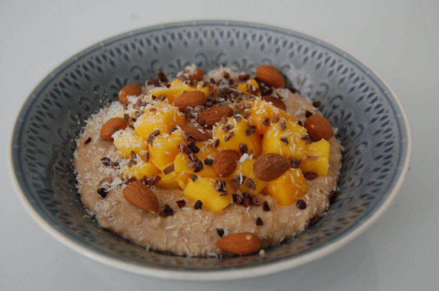 dieet ontbijt met havermout