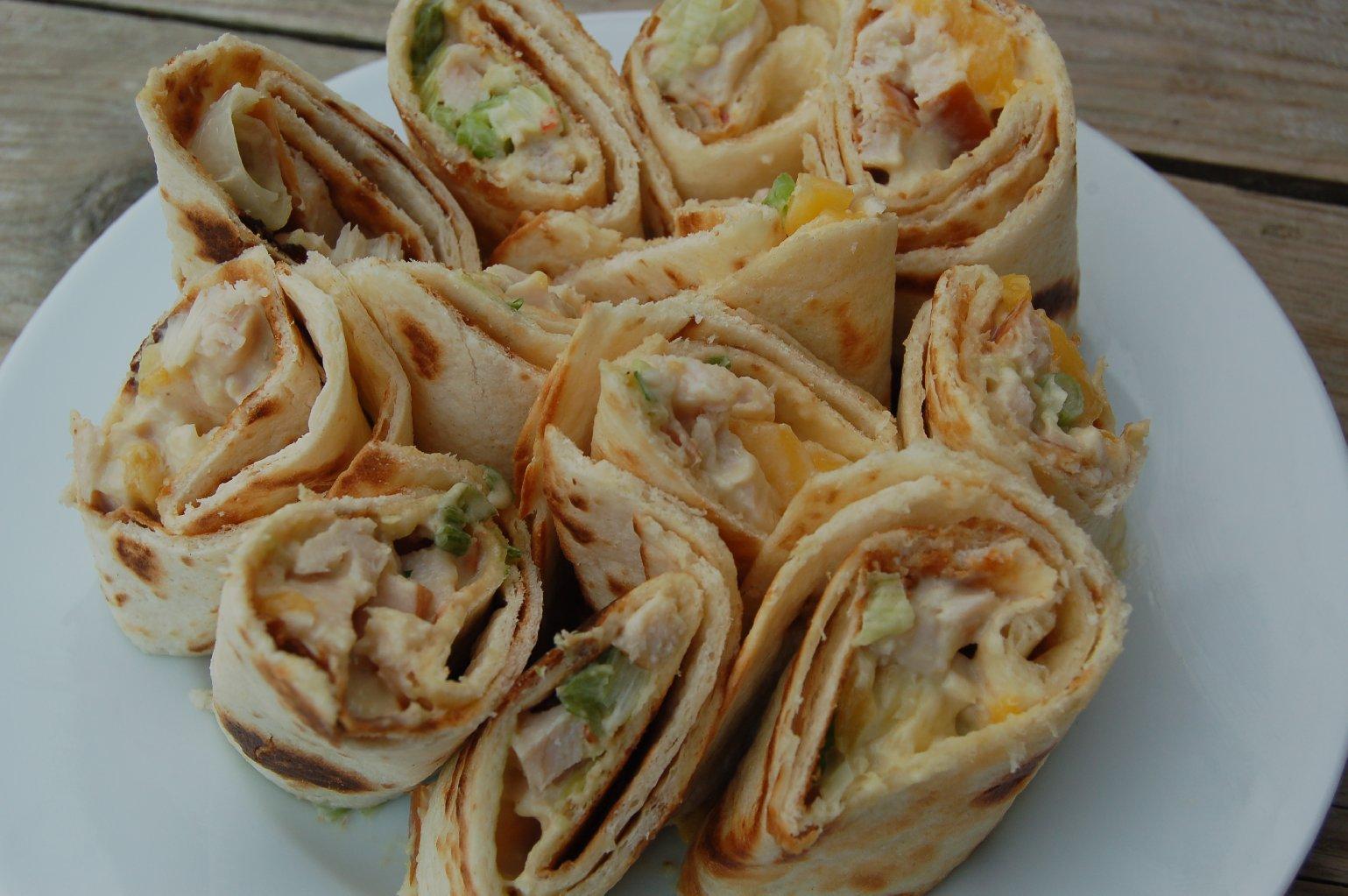 Genoeg Wraps met gerookte kip, avocado en mango - FOOD I LOVE @SB43