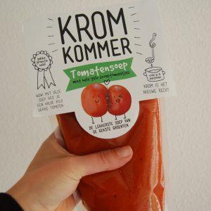 Kromkommer tomatensoep