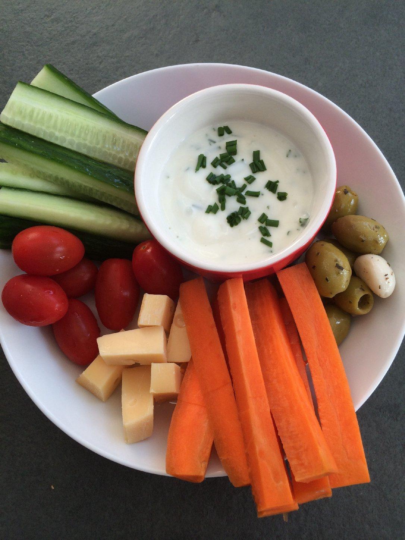 Uitzonderlijk Gezonde hapjes met yoghurt dip - FOOD I LOVE MI24