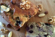 Blueberry bananenbrood