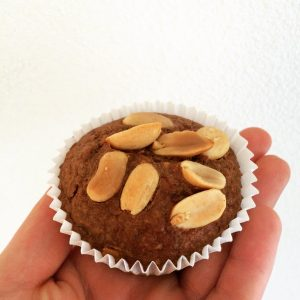 Healthy snicker muffins