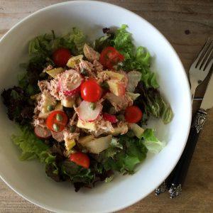 Easy tonijnsalade