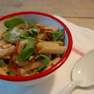 BLT pasta salade