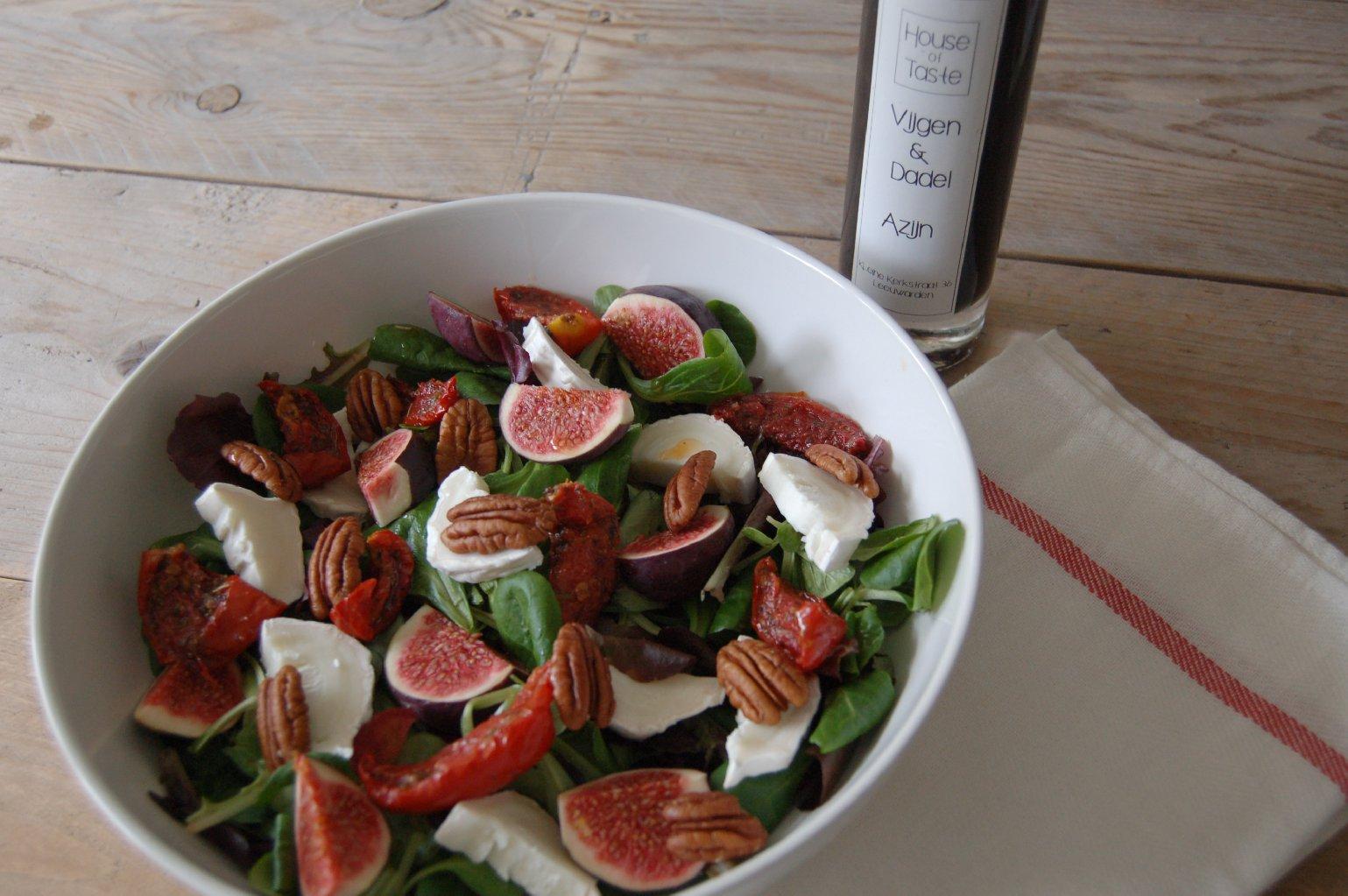 Italiaanse herfst salade - saladerecepten