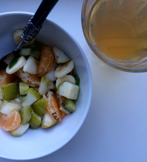 Healthy herfst fruitsalade 1