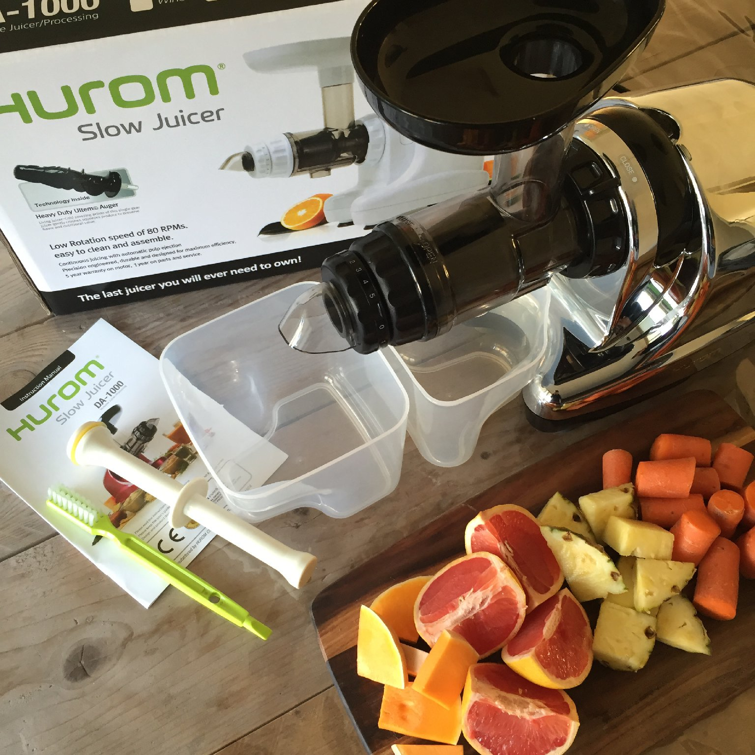 Foodilove test Hurom Slowjuicer - FOOD I LOvE