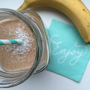 Eiwitrijke choco smoothie