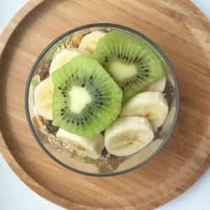 Banaan kiwi parfait
