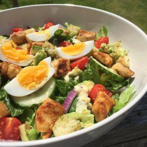 Skinny caesar salade