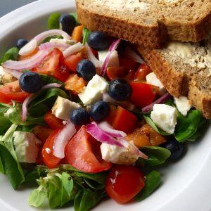 Zomerse vakantie salade