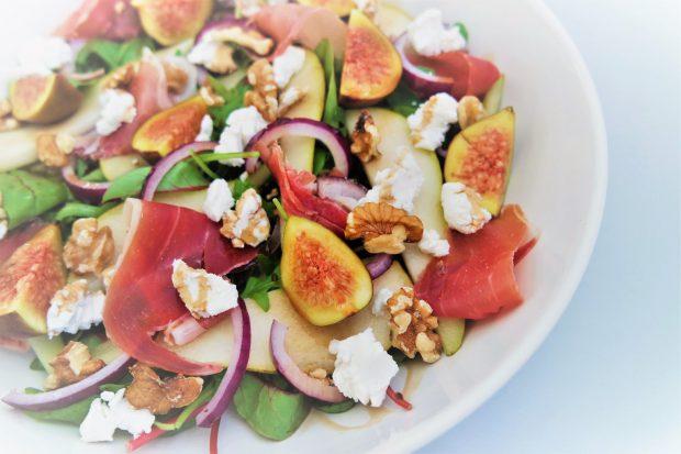 winterse-salade-met-peer-en-vijgen