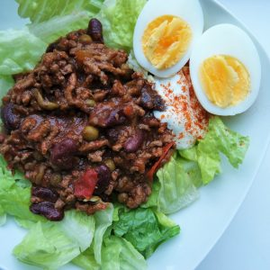 Gezonde chili salade