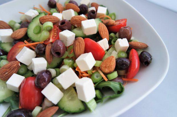 Rucola wortel salade