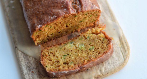 Lemon-zucchini-cake