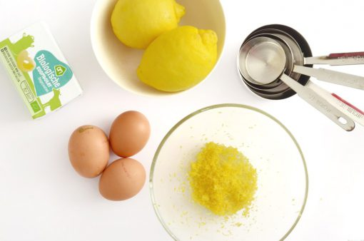 Lemon zucchini cake ingredienten