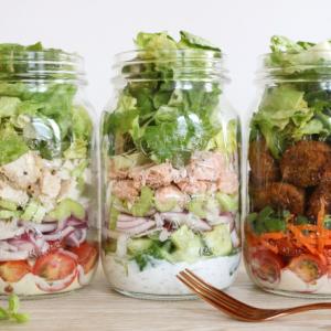 3x mealprep salades