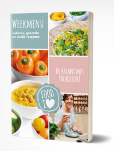 Foodilove Ebook weekmenu