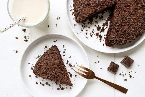 Gezonde chocoladetaart 1