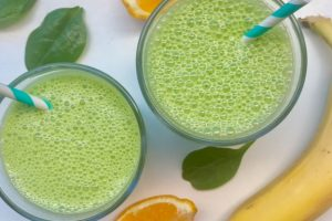 Zomerse groene smoothie