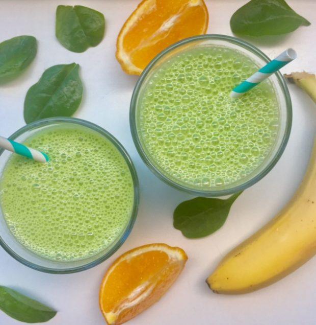 Zomerse groene smoothie