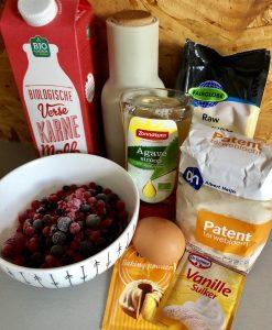 Luchtige pannenkoekjes ingredienten