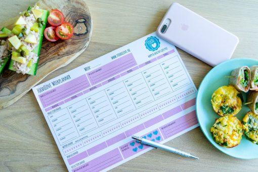 Foodilove weekplanner