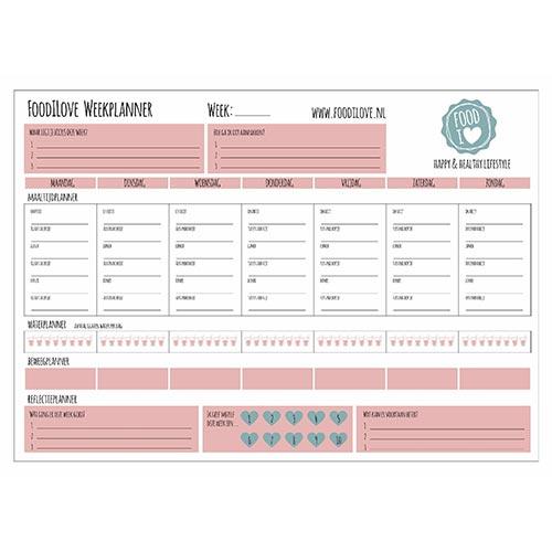 Foodilove-weekplanner-printable