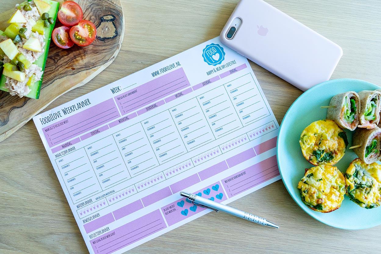 12 gezonde weekmenus
